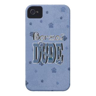 Borzoi DUDE Case-Mate iPhone 4 Case