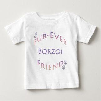 Borzoi Furever Playera Para Bebé