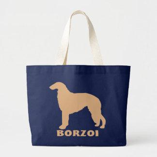 Borzoi Large Tote Bag