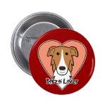Borzoi Lover Button