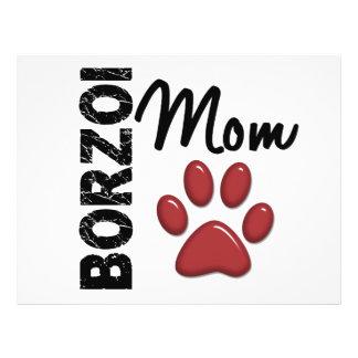 Borzoi Mom 2 Custom Flyer