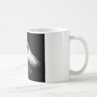 borzoi classic white coffee mug