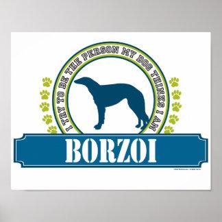 Borzoi Poster