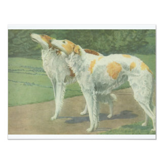 Borzoi (Russian Wolfhound) Card
