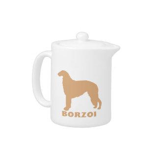 Borzoi Teapot