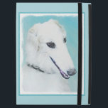 "Borzoi (White) Painting - Cute Original Dog Art iPad Pro 12.9&quot; Case<br><div class=""desc"">Borzoi White dog portrait, original painting. We specialize in cute and funny original art. Buy this for yourself or as a great gift for your Borzoi (White) loving friends. Be creative - click on CUSTOMIZE to add/remove/change text, resize the picture, change colors or anything else the customization tool will allow!...</div>"