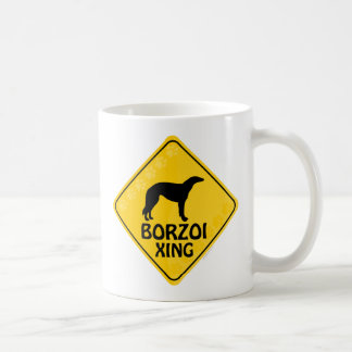 Borzoi Xing Coffee Mug