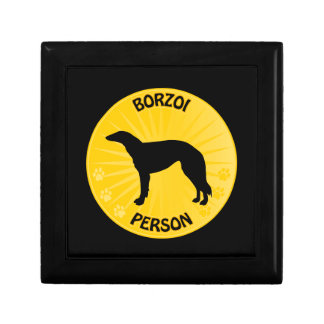 Borzoi Xing Jewelry Box