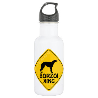 Borzoi Xing Water Bottle