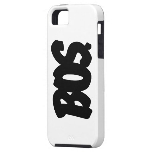 BOS Letters iPhone SE/5/5s Case