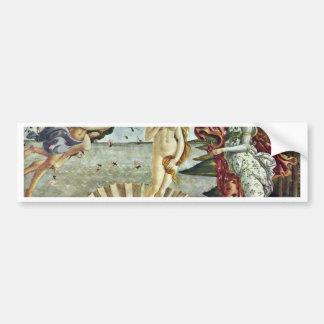 Bosanski: Roä'Enje Venere.,  By Sandro Botticelli Car Bumper Sticker