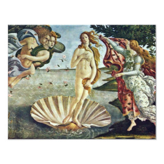 Bosanski: Roä'Enje Venere.,  By Sandro Botticelli Personalized Invitations