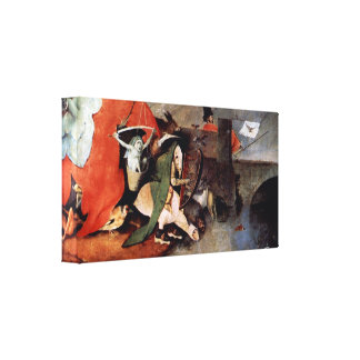 Bosch - Anthony Altar -Temptation of St Anthony Gallery Wrapped Canvas