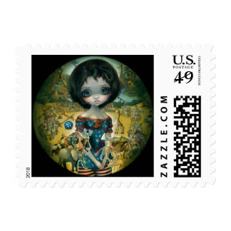 """Bosch Circus"" Stamp"