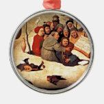 Bosch: El concierto en el huevo Adorno Redondo Plateado