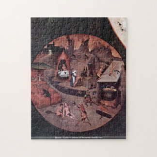 Bosch - Table w/ scenes of the seven deadly sins Puzzles