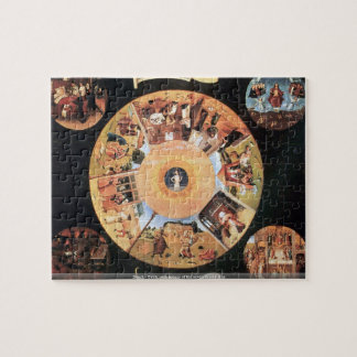Bosch - Table with scenes of the seven deadly sins Puzzle