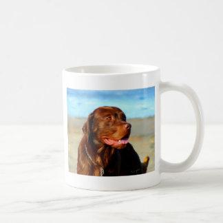 Bosco - Chocolate Labrador Art Mugs