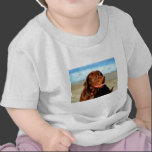 Bosco - Chocolate Labrador Art T Shirt