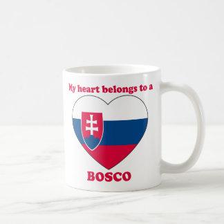 Bosco Classic White Coffee Mug