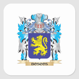 Boscos Coat of Arms Sticker