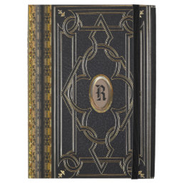 "Boscow Old Book Style Monogram iPad Pro 12.9"" Case"
