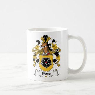 Bose Family Crest Coffee Mug