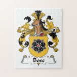 Bose Family Crest Puzzle
