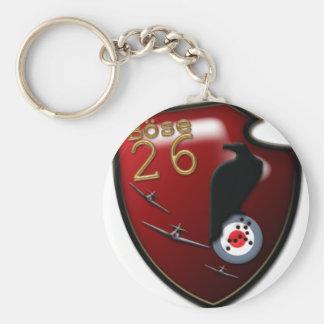 Bose Geschwader 26 Emblem Keychain