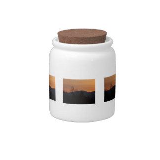 BOSI Boreal Silhouette Candy Jar