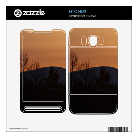 BOSI Boreal Silhouette Decals For HTC HD2