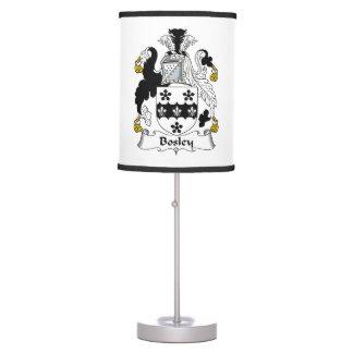 Bosley Family Crest Desk Lamp