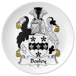 Bosley Family Crest Plate