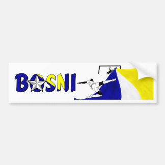 Bosni Bumper Sticker