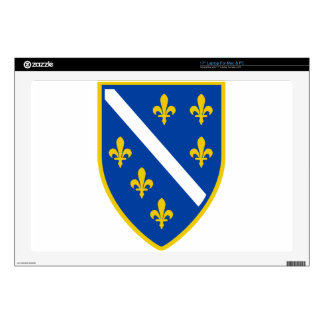"Bosnia 17"" Laptop Skin"