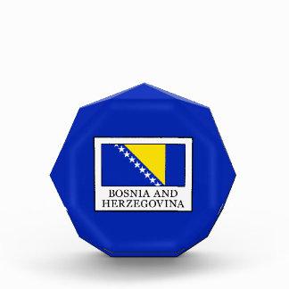 Bosnia and Herzegovina Acrylic Award