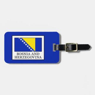 Bosnia and Herzegovina Bag Tag