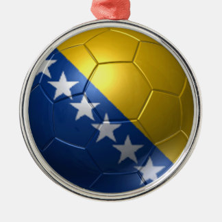 Bosnia and Herzegovina ball Metal Ornament