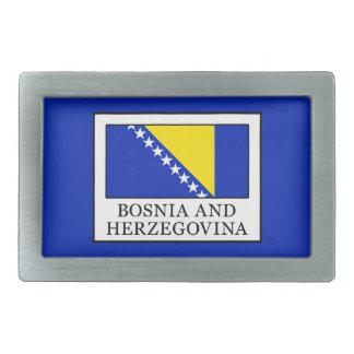 Bosnia and Herzegovina Belt Buckle