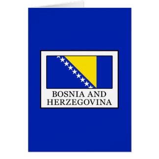 Bosnia and Herzegovina Card