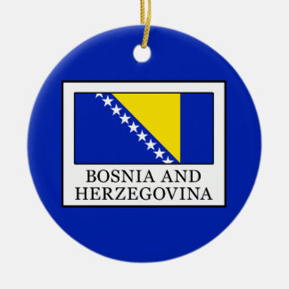Bosnia and Herzegovina Ceramic Ornament