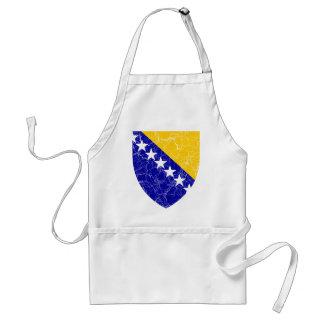 Bosnia And Herzegovina Coat Of Arms Adult Apron