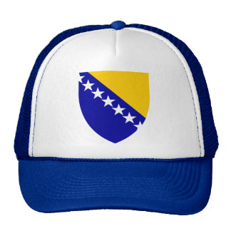Bosnia and Herzegovina Coat of Arms Hat