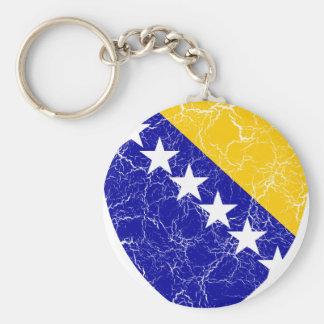 Bosnia And Herzegovina Coat Of Arms Key Chain