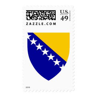 Bosnia and Herzegovina coat of arms Postage