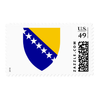 Bosnia and Herzegovina coat of arms Postage Stamp