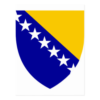 Bosnia And Herzegovina Coat Of Arms Postcard