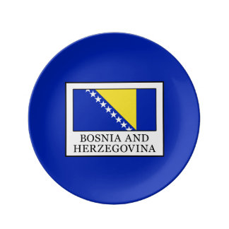 Bosnia and Herzegovina Dinner Plate