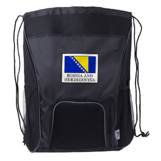 Bosnia and Herzegovina Drawstring Backpack