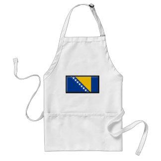 Bosnia and Herzegovina Flag Adult Apron